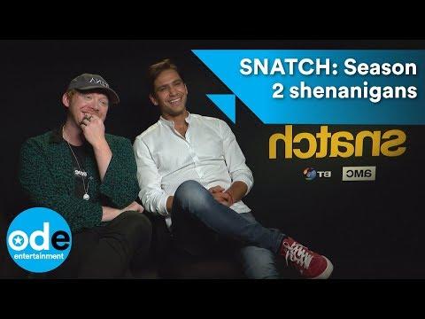 SNATCH: Luke Pasqualino & Rupert Grint's season 2 shenanigans