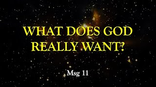 Micah: What Does God Really Want?