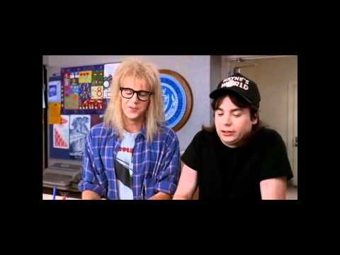 Waynes World 2 Eye Scene