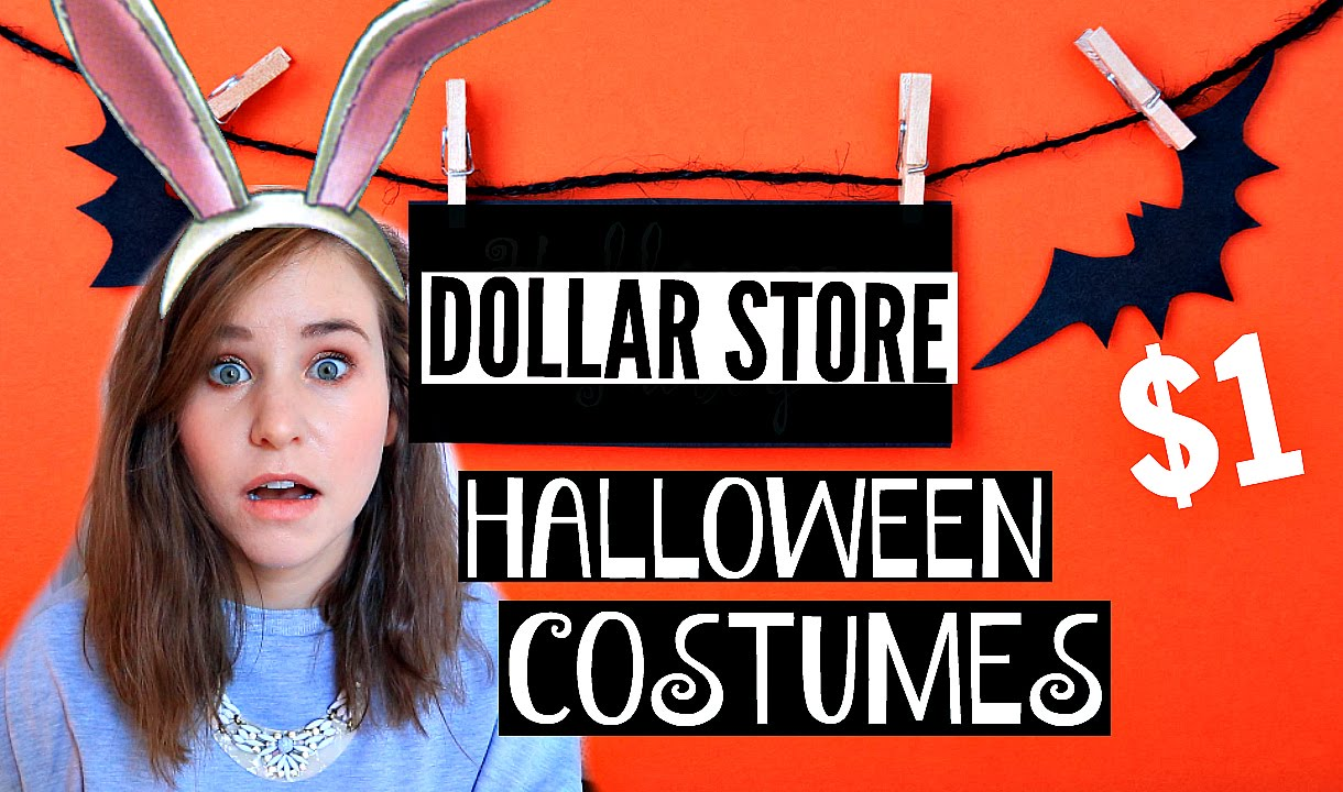 CHEAP Halloween Costumes 2015: Dollar Store Haul - YouTube