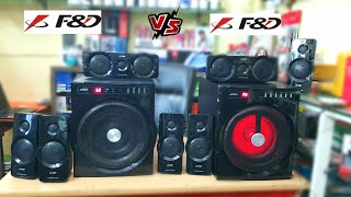 F amp D F6000X VS F amp D F6000U BATTLE GROUND SOUND COMPARISON OLD VS NEW LET 39 S SEE WHO IS THE BEAST