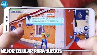 MEJOR MOVIL para JUEGOS ANDROID y PARA JUGAR FORNITE para Android 2018 con Buena Cámara y Batería