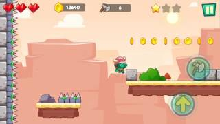 Jungle Adventures: Super World - Sahara Level 9... Gameplay (Free Game On Android)