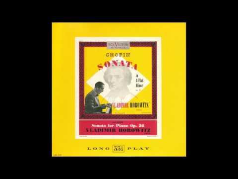 Barber - Piano sonata - Horowitz