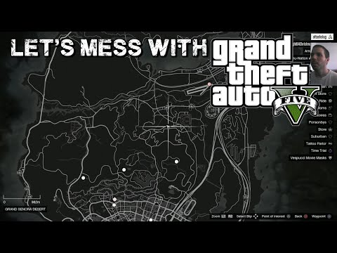 Let's Mess With: GTA 5 - Where did the icons go?