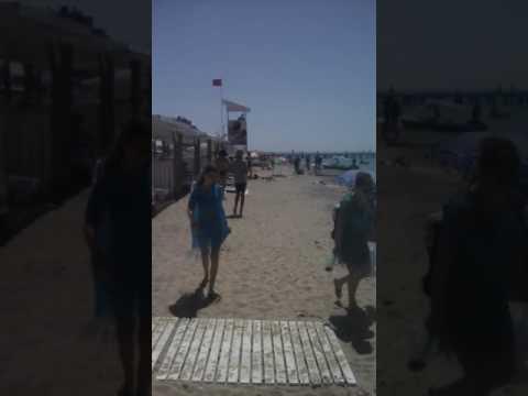 Евпатрия пляж золотые пески черное море без обмана .29.06.2017