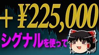 シグナルで 10分で、22万円の儲け?! バイナリーオプション(詳しくver)【ゆっくり解説】 thumbnail
