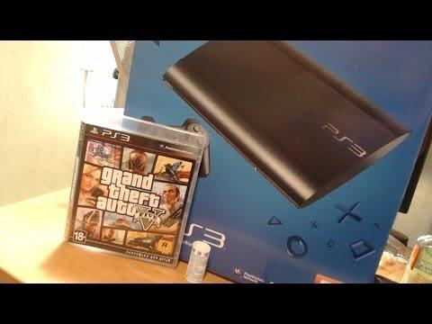 Как я впервые запустил PS3 и GTA 5