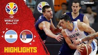 世界盃籃賽8強 阿根廷隊vs塞爾維亞 精彩片段