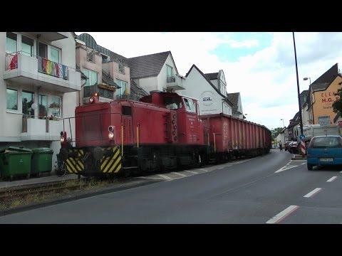 Trains street running - RSVG Sieglar Ortsdurchfahrt RSKE