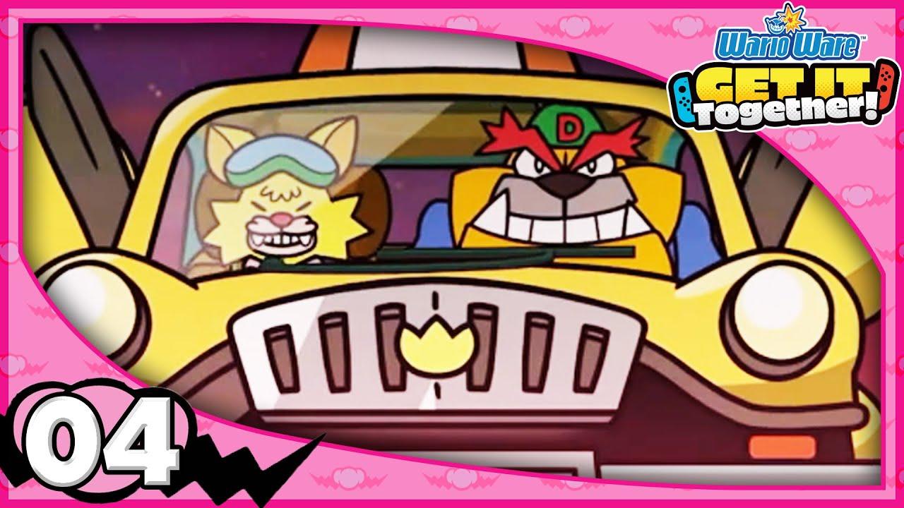 Download DRIBBLE & SPITZ! FANTASY! WarioWare: Get It Together! - Gameplay 100% Walkthrough Part 4!