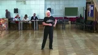 Татьяна Костина   Судейство базовых шагов в Ча-ча-ча