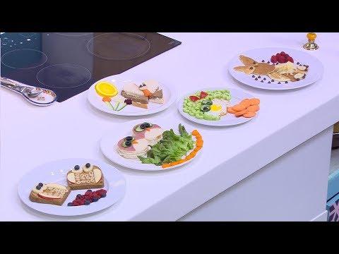 تزيين بان كيك - تزيين بيض  - تزيين سندوتشات  : بالصحة والراحة (حلقة كاملة)