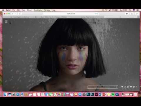 Sia's Website