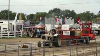 matt martin cockshutt 570 listowel 2012 tractor pull 7500lb