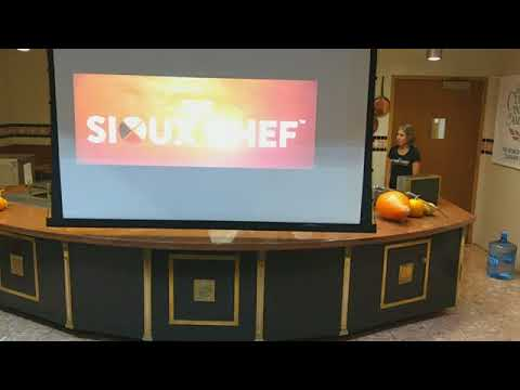 Sioux Chef at Culinary Institue of America October 23 2017