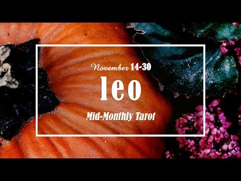 LEO'S NOV 14-30; GOLDEN OPPORTUNITIES - Someone will try to distract you