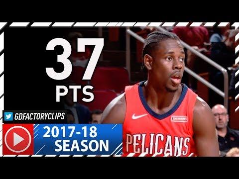 Jrue Holiday Full Highlights vs Rockets (2017.12.11) - 37 Pts, BALLER!