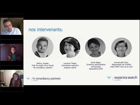 Replay Webinar / Télétravail : comment intégrer les nouveaux rythmes et les nouvelles approches