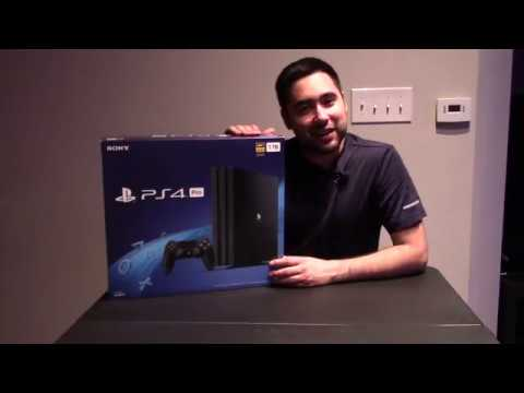 Unboxing PS4 Pro From Amazon