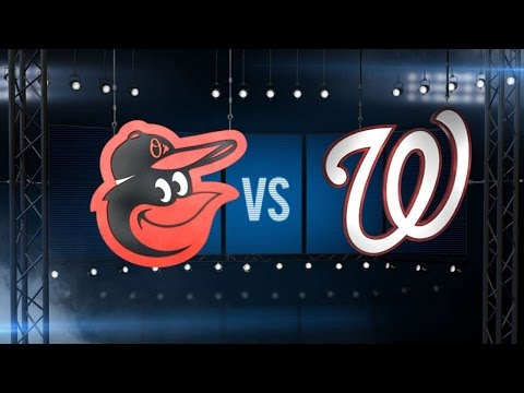 8/24/16: Wieters, Machado lead Orioles past Nationals