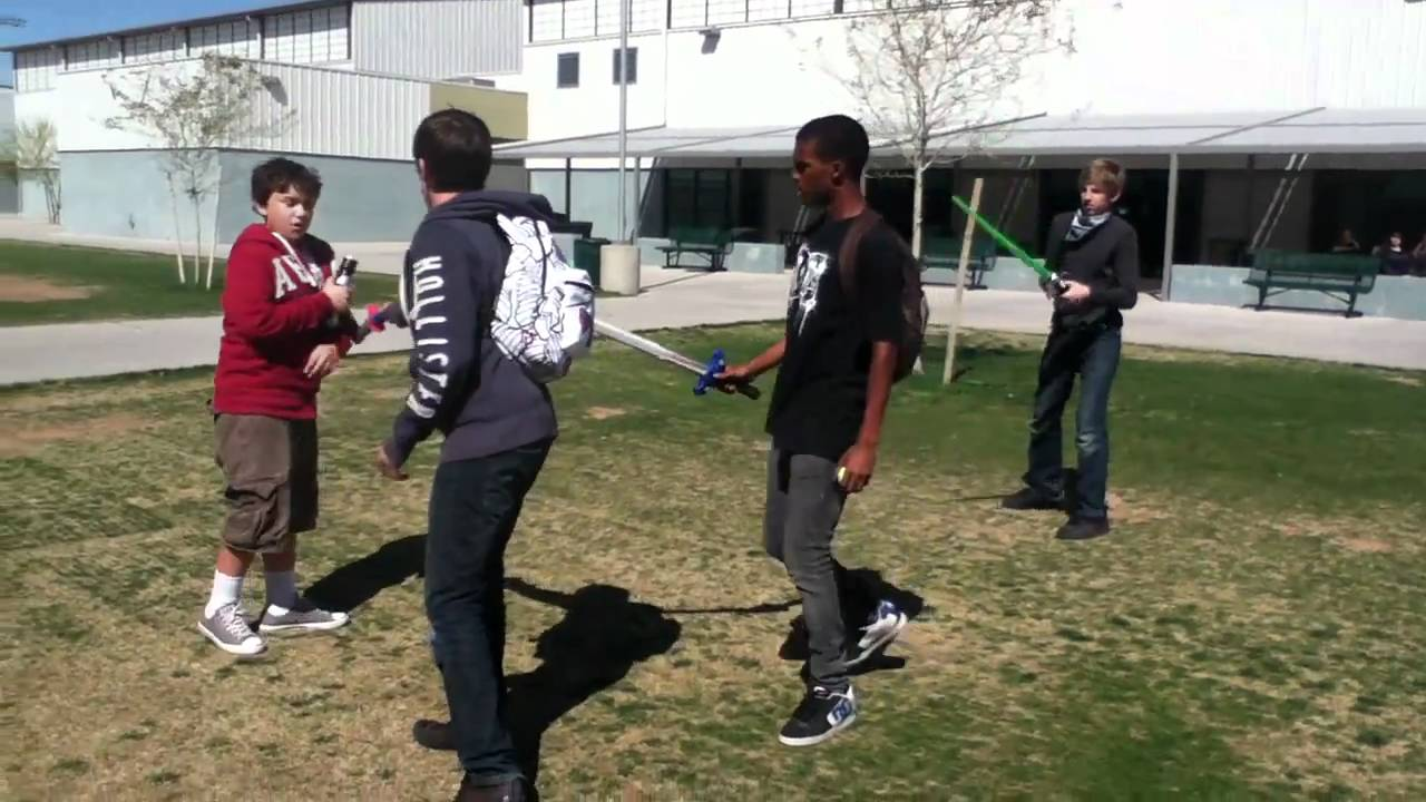 An Average Day at Youngker High School Pt. 4 - YouTube