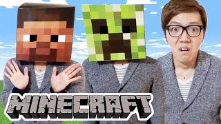 マインクラフトのかぶりものかぶってみた!Minecraft Head!