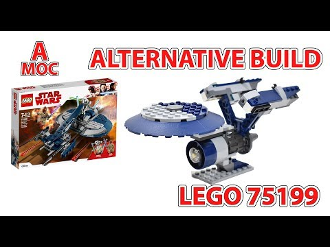 LEGO 75199 Star Trek  U.S.S. Enterprise alternative build from star wars :) [A MOC]