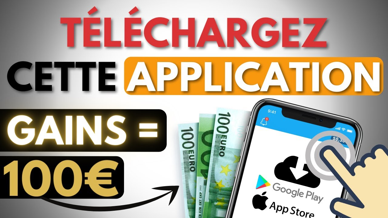 🤑 100€ EN TÉLÉCHARGEANT CETTE APP ! 🔥 Gagner de l'argent sur internet rapidement et facilement