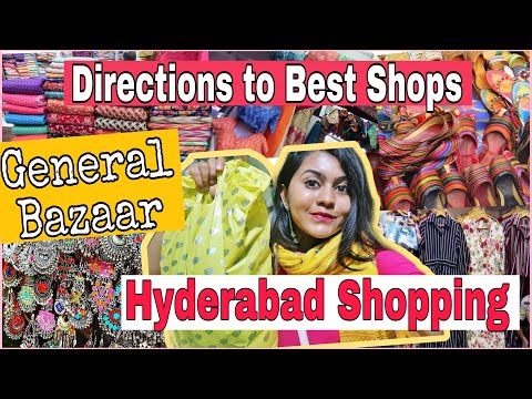 Best shops in General Bazaar Secunderabad / Hyderabad Shoppi