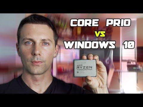 AMD Vs. Microsoft - 2990WX CorePrio Fix On Windows 10