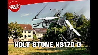 The perfect beginner drone – Holy Stone HS 170 G – Review english