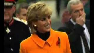 Princess Diana in Liverpool 1995 - RARE Footage!