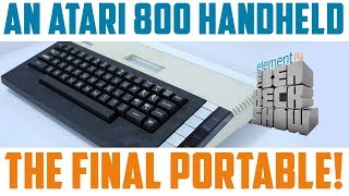 The Final Project:  Atari 800 Handheld - Part 1