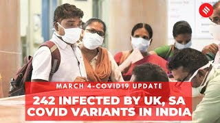 Coronavirus Update March 4: India recorded 17,407 new Covid cases, and 89 deaths