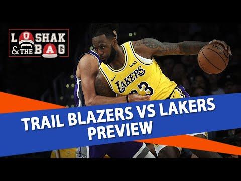 Trail Blazers vs Lakers NBA Picks and Predictions | LoBag NBA Betting Tips