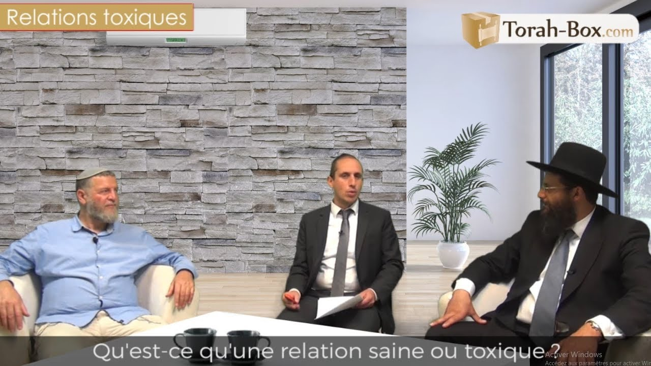 PsychoTorah : Les relations abusives / toxiques