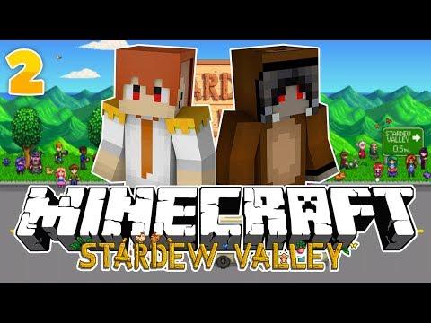 Minecraft: STARDEW VALLEY | เริ่มต้นสร้างเมืองและเพาะปลูก?! #2