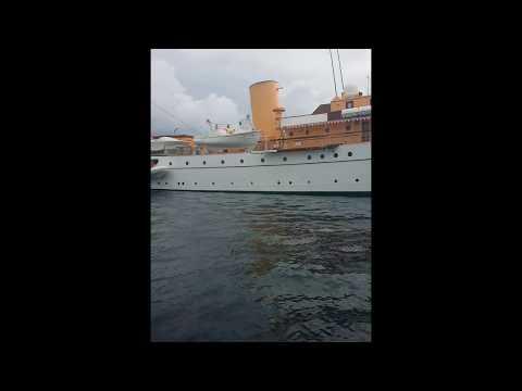 Queen Margrethe of Denmarks ship