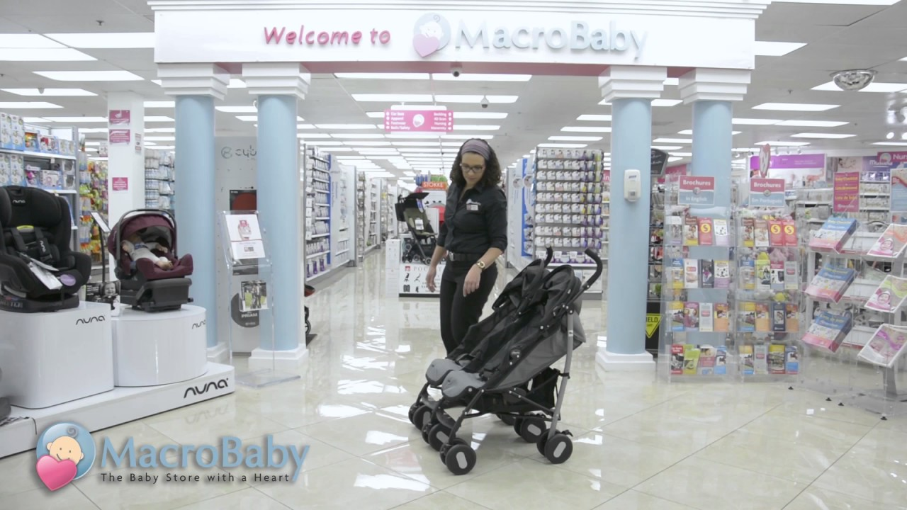 76e576344 MacroBaby Store - Chicco Echo Twin Stroller - YouTube