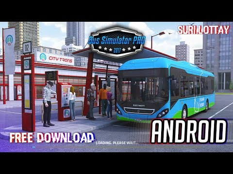 Bus Simulator PRO 2017 Android||APK+OBB|| Free Download  #Smartphone #Android