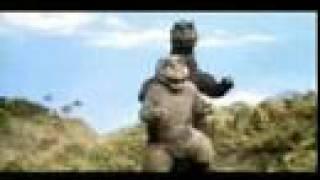 Classic Public Service Announcement with Godzilla & Minilla