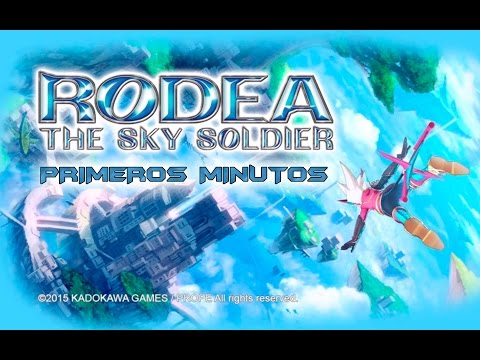 Primeros minutos - Rodea the Sky Soldier (3DS)