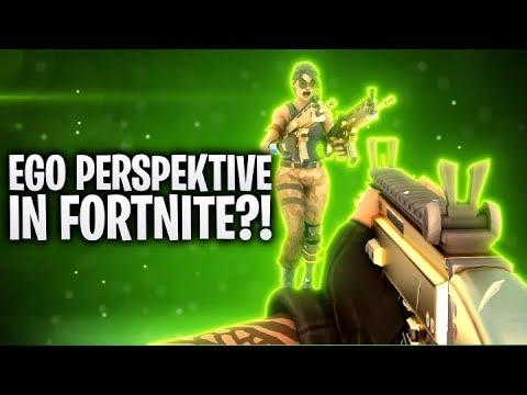 EGO PERSPEKTIVE in FORTNITE? 🌎 | Fortnite: Battle Royale
