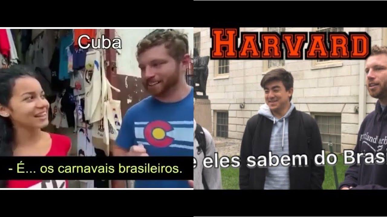 Havana x Harvard: QUEM SABE MAIS SOBRE BRASIL EUA ou CUBA?