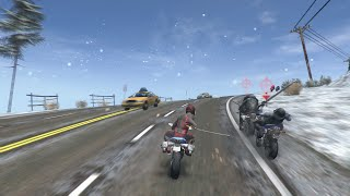 official road redemption steam early access trailer 90 seconds of gameplay