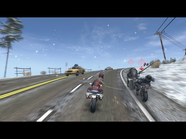 (OFFICIAL) Road Redemption Steam Early Access Trailer - 90 seconds of gameplay
