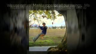 Rosedale Swing Company Orca Tree Swing