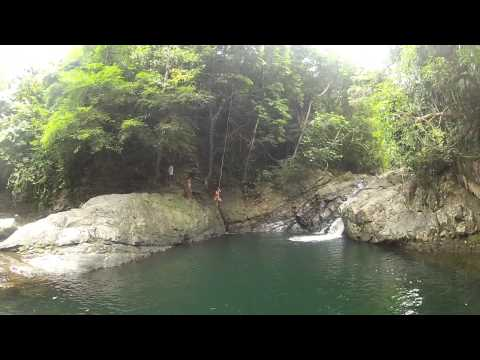 Mablaran Water Falls San Andres Tablas Romblon Tourist Tourism promotions philippines
