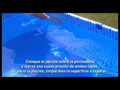Kit de reparaci n de piscinas pelopincho youtube - Parches para piscinas de lona ...
